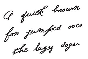 Bull Run Antique Handwriting Font