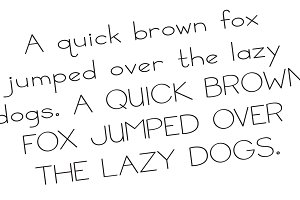 Basic Bits Thin NeatHandwriting Font