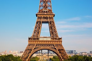 Middle section of Eiffel Tower