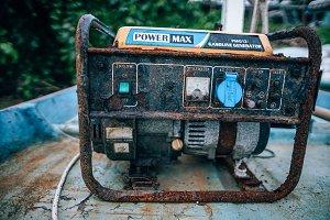 Vintage Gasoline Generator