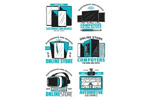 Online store devices and electronics