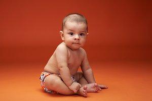 One little baby boy