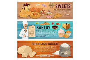 Sweets and bakery, dough