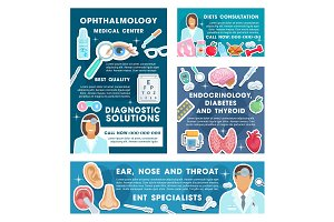Endocrinology, ophthalmology, diet