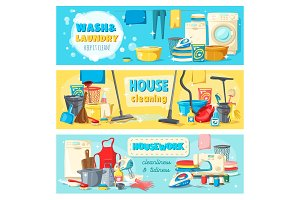 Laundry cleaning, housework service
