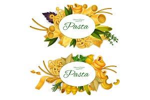 Tasty Italian pasta products