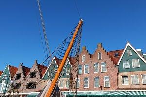 The Dutch small city of Volendam. Cl