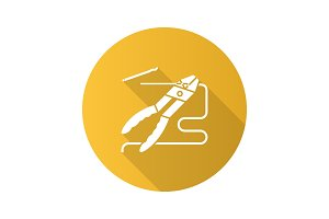 Combination pliers icon