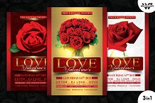 VALENTINE'S DAY LOVE Flyer Template