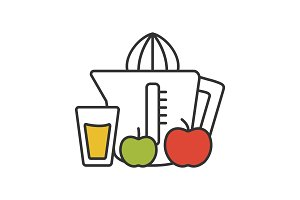 Juicer color icon