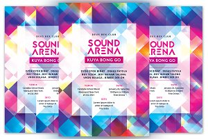 Sound Arena Flyer
