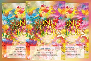 Song of Our Colors Flyer