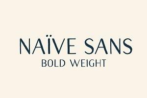 Naive Sans (Bold weight)