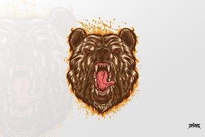 Beast Bear Vector