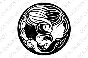 Gemini Twins Zodiac Horoscope Sign