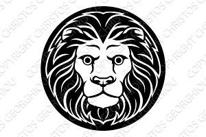 Zodiac Signs Leo Lion Icon