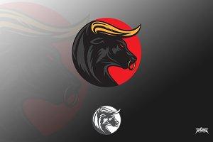 Boss Taurus Bull Logo Vector