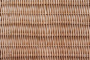Traditional Woven wood rattan patter