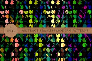 ABSTRACT seamless modern patterns