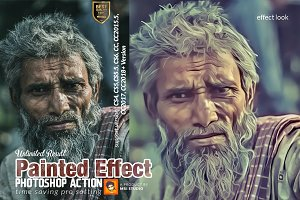 Painted Effect Photoshop Action