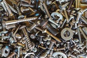 industrial hardware background