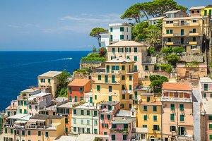 Riomaggiore Village, Cinque Terre