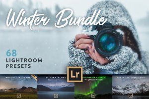Winter Bundle - 68 Lightroom Presets
