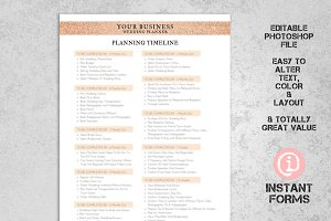 Wedding Planner Contract & Forms