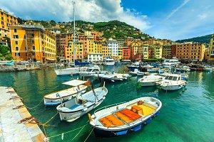 Spectacular Mediterranean harbor