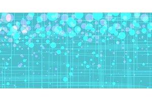 turquoise bubbles. Pop art retro