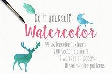 50%off Watercolor pack + BONUS
