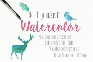 Watercolor pack + BONUS