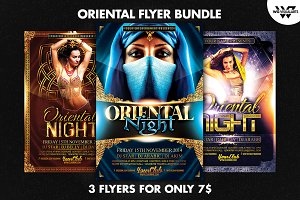 ORIENTAL Flyer Bundle
