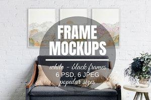 Poster Frame Mockup Template