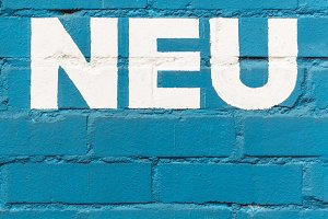 Neu / New