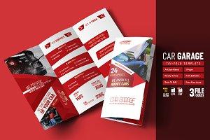 Car Garage & Service Tri-Fold
