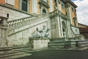 Piazza del Campidoglio Rome Italy