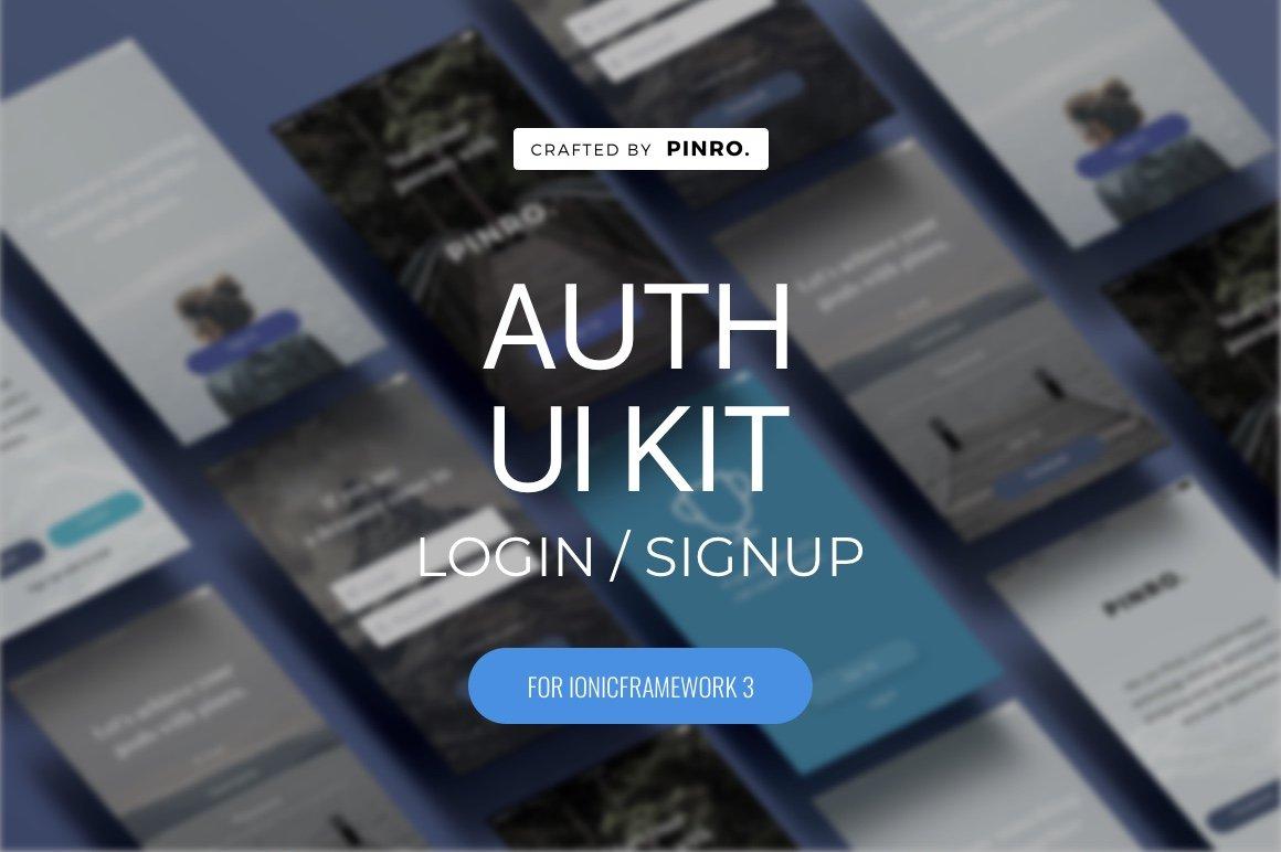 Auth UI Kit - Ionic 3 Theme