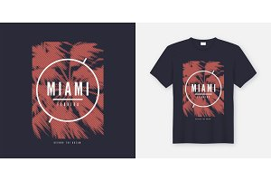 Miami Beyond the dream tshirt design