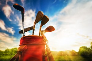 Professional golf equipment