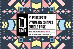 81 Shapes Brush Bundle for Procreate