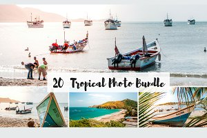 20 Tropical Photo Bundle