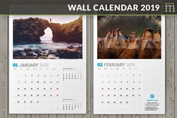 Wall Calendar 2019 (WC031-19)