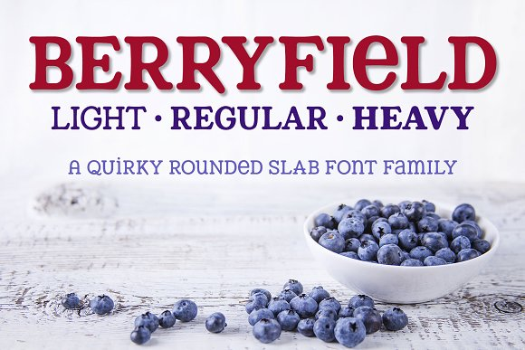 Berryfield: a quirky slab family!