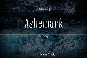 Ashemark Font