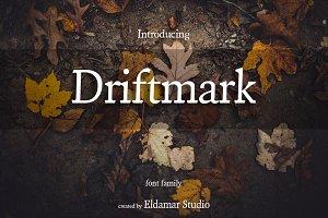 Driftmark Font