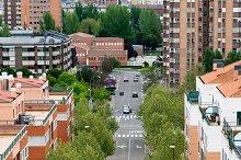 Cityscape, buildings