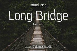 Long Bridge Font