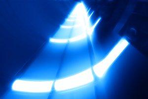 Futuristic spaceship panels backgrou