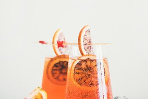 Aperol Spritz alcohol cocktail drink